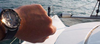 Une journée en mer avec ma montre CITIZEN BJ2111-08E Éco-Drive Promaster