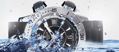 L'étanchéité d'une montre