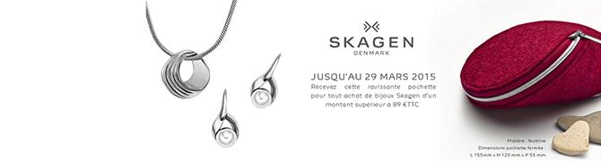 Skagen : des bijoux totalement dans l'air du temps