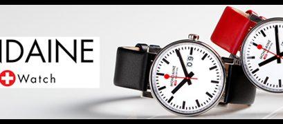 Mondaine, des montres à l'heure de la tendance