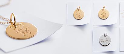 médailles bijoux