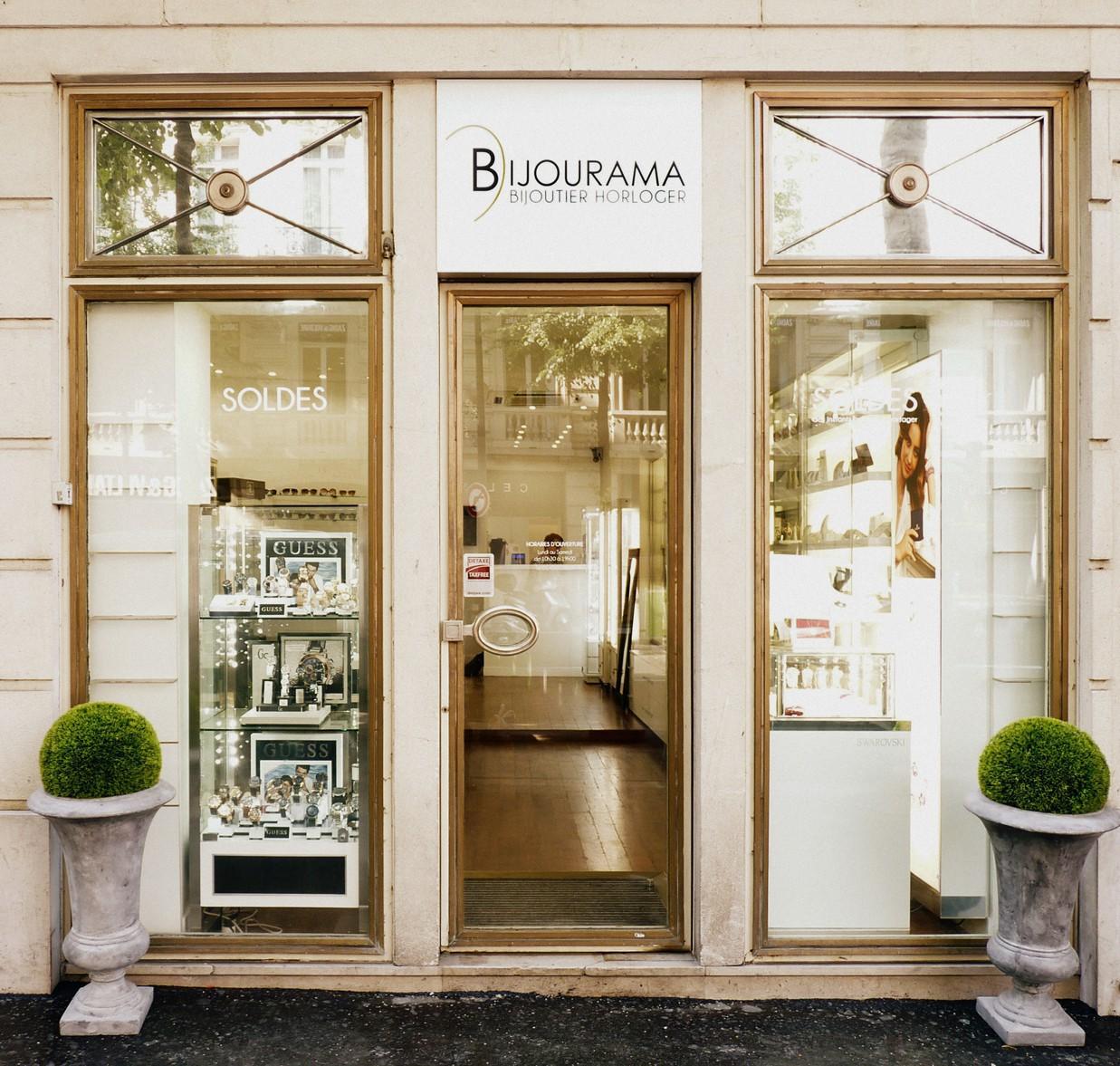 Boutique bijourama notre magasin parisien - Boutique avenue victor hugo ...