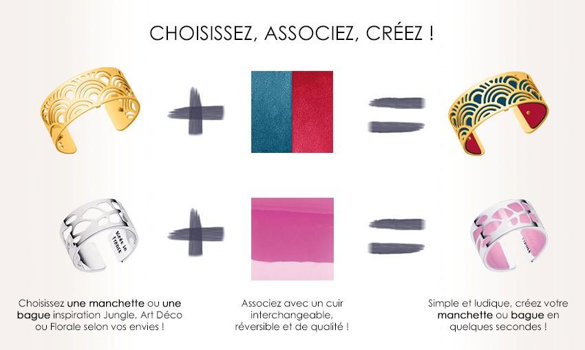 Cuir les georgettes , le meilleur choix de Bijoux Les