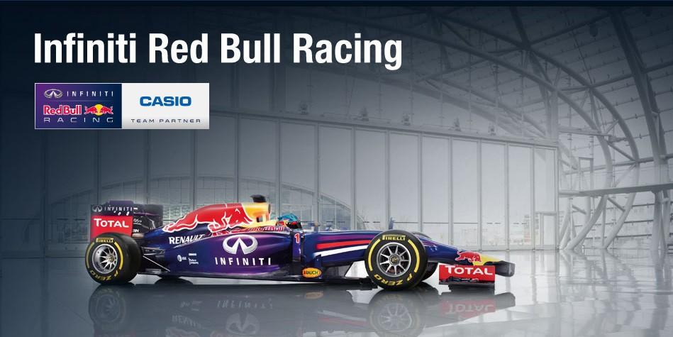 casio red bull racing