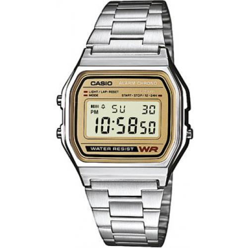 Casio - Montre Casio Retro Vintage A158WEA-9EF - Montre Digitale Casio