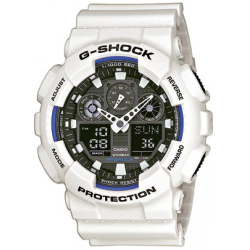 Casio - Montre Casio G-Shock GA-100B-7AER - Montre casio etanche