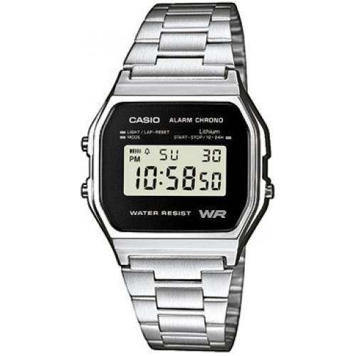 Casio - Montre Casio Retro Vintage A158WEA-1EF - Montre Digitale Casio