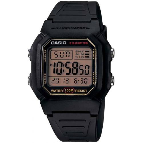 Casio - Montre Casio Collection W-800HG-9AVES - Montre Noire Homme
