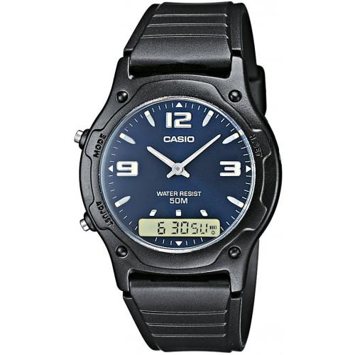 Montre Casio Acier Casio Collection AW-49HE-2AVEF - Homme