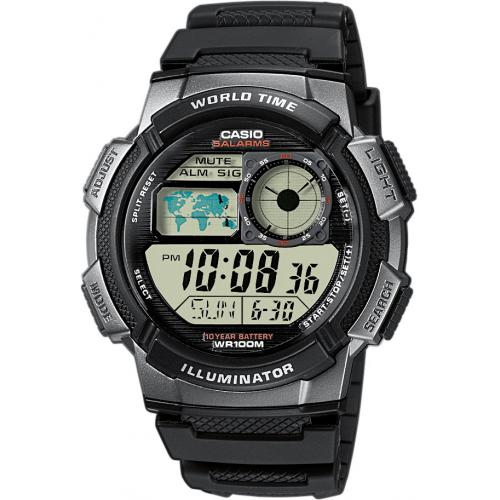 Casio - Montre Casio Collection AE-1000W-1BVEF - Montre Digitale Casio
