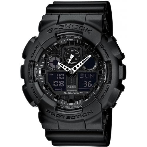 Casio - Montre Casio G-Shock Master of G GA-100-1A1ER Homme - Montre casio etanche