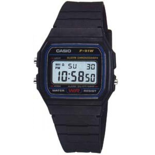 Montre Casio F-91W-1YER
