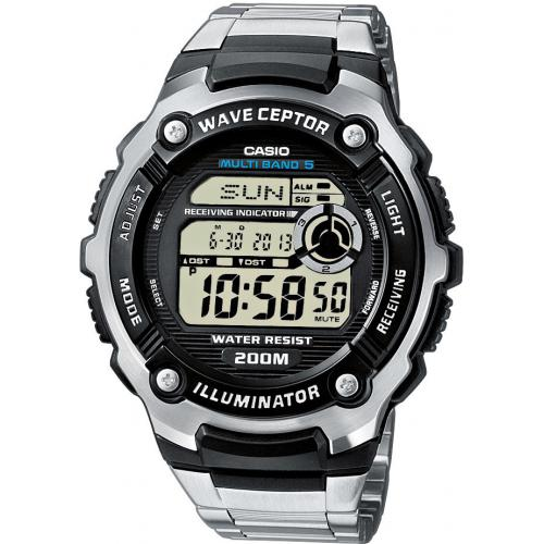Casio - Montre Casio Waveceptor WV-200DE-1AVER - Montre casio etanche