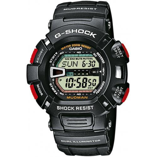 Casio - Montre Casio G-Shock Master of G G-9000-1VER Mixte - Montre casio etanche