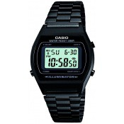 Montre Casio  Chrono Dateur Noire B640WB-1AEF