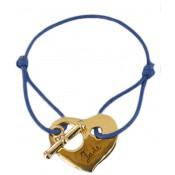 Bracelet Cordon Mon Coeur à moi  - Les bijoux de Pauline et Victoria