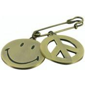 broche smiley - N2