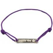Bracelet Cordon petite fée Plaque - Marie-Laure T