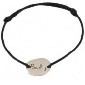 Bracelet cordon nuage - Les bijoux de Pauline et Victoria
