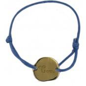Bracelet cordon nuage plaqué or - Les bijoux de Pauline et Victoria