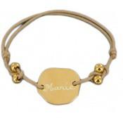 Bracelet Cordon Mon Amour Perles - Les bijoux de Pauline et Victoria