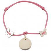 Bracelet cordon papillons - Les bijoux de Pauline et Victoria
