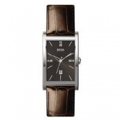 Montre Hugo Boss Rectangulaire Marron HB-1512032