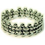 Bracelet Ubu multi perles Argenté - Ubu