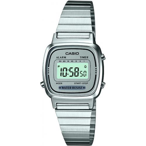 Casio - Montre Casio Retro Vintage LA670WEA-7EF - Montre