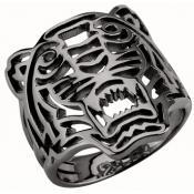 Bague Kenzo Bijoux Tigre Noir 701752233000-50