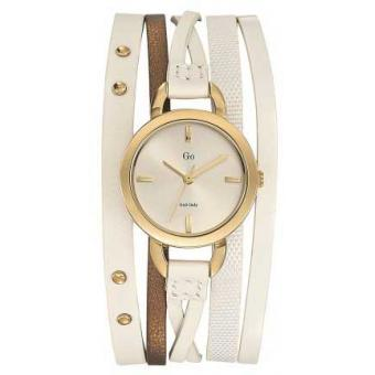 Montre Go Girl Only 698528 - Montre Cuir Blanche Femme