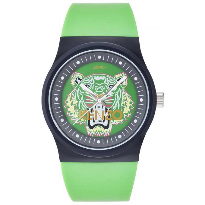 montre kenzo iconique 9600103 montre tigre verte femme sur bijourama montre femme pas cher. Black Bedroom Furniture Sets. Home Design Ideas