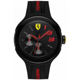 Montre Ferrari Montres 830223 - Montre Noire Ronde Homme