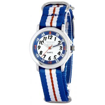 Montre Trendy Kiddy KL363 - Montre Quartz Bleue Enfant