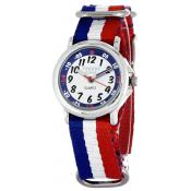 Montre Trendy Kiddy KL365 - Montre Quartz Tricolore Enfant