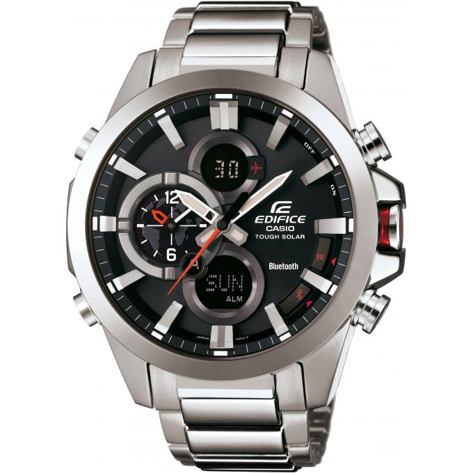 montre casio edifice ecb 500d 1aer montre bluetooth solaire homme sur bijourama montre homme. Black Bedroom Furniture Sets. Home Design Ideas