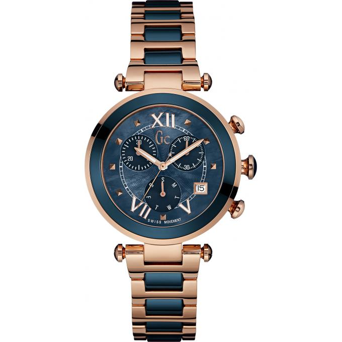 montre-guess-collection-or-rose