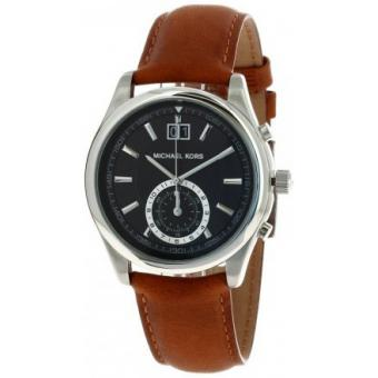 Montre Michael Kors AIDEN MK8416 - Montre Cuir Marron Homme