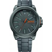 Montre BOSS ORANGE NEW YORK 1513005 - Montre Ronde Grise Homme