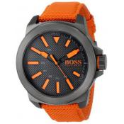 Montre BOSS ORANGE NEW YORK 1513010 - Montre Tissu Orange Homme