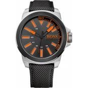 Hugo Boss Orange - Montre BOSS ORANGE New York 1513116 - Montre Homme Bracelet Tissu