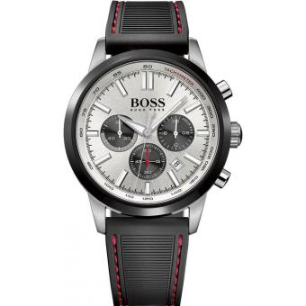 Montre BOSS RACING 1513185 - Montre Silicone Chronographe Homme