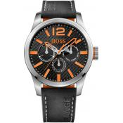 Montre BOSS ORANGE PARIS 1513228 - Montre Cuir Multifonction Homme