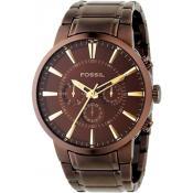 Montre Fossil Chrono Acier FS4357