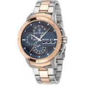 Montre Maserati R8873619002 - Montre Chronographe Or Rose Homme