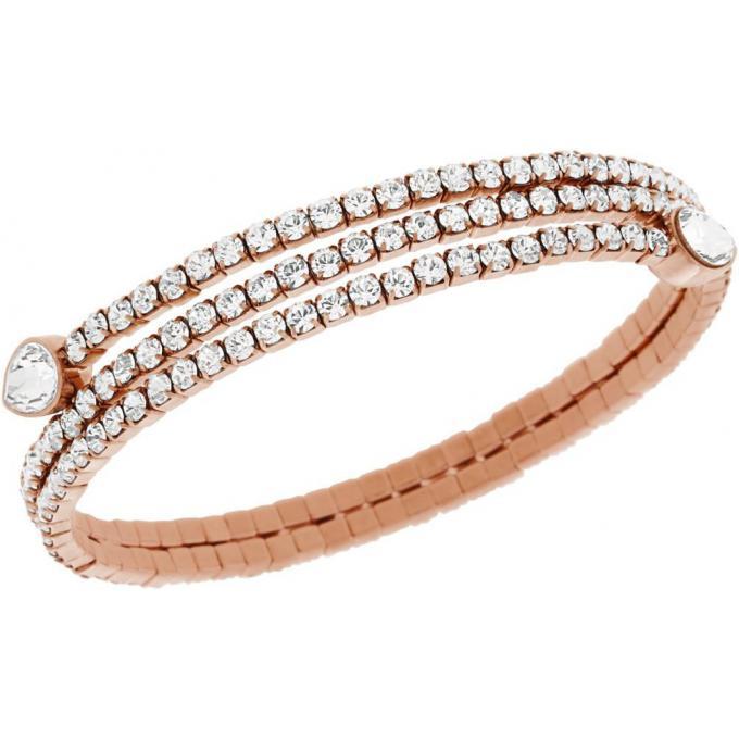 bracelet swarovski 5073594 bracelet dor rose femme sur bijourama r f rence des bijoux femme. Black Bedroom Furniture Sets. Home Design Ideas