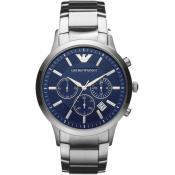 Montre Emporio Armani Acier Bleu AR2448 - Promos