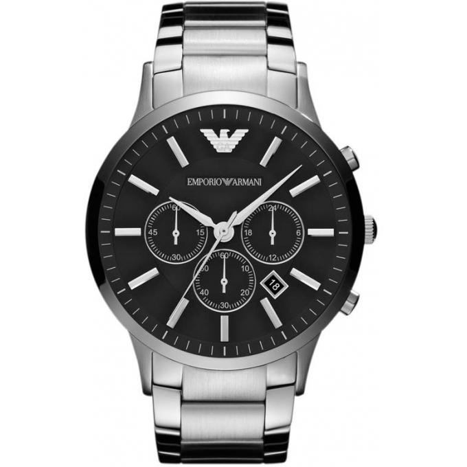montre emporio armani ar2460 montre argent ronde homme sur bijourama montre homme pas cher. Black Bedroom Furniture Sets. Home Design Ideas