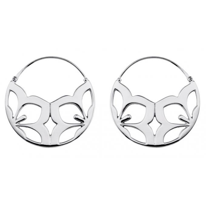 Boucles d'oreilles argent kenzo