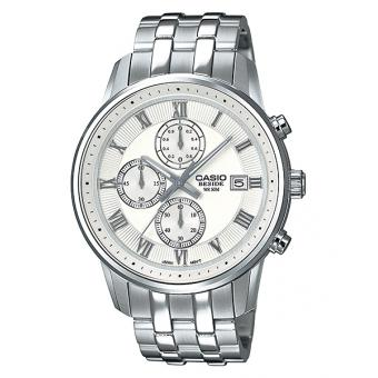 Montre Casio Collection BEM-511D-7AVEF - Montre Chronographe Acier Homme